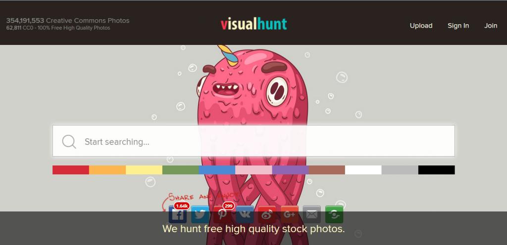VisualHunt Base Images Gratuites Agence Social Media OnlySo