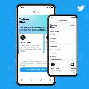 Twitter lance Twitter Blue son service de newsletters